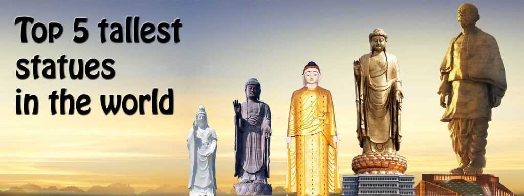 Top 5 tallest statues in the world