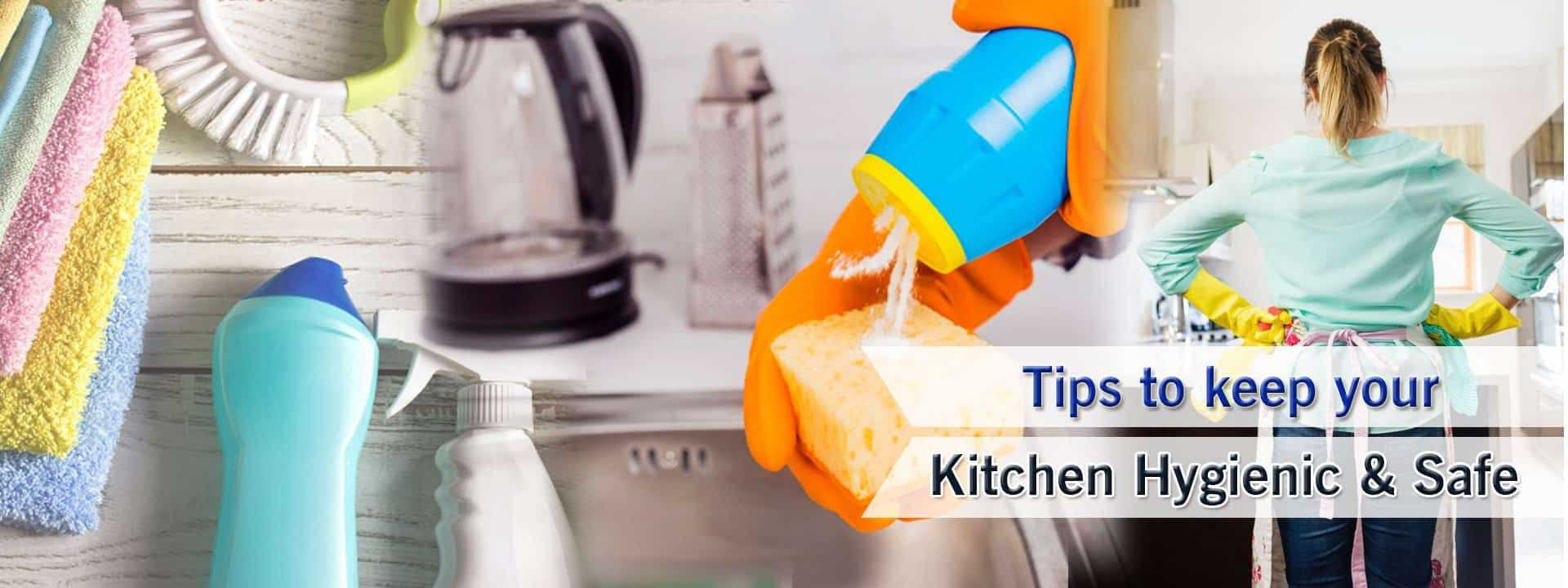 Tips To Keep Your Kitchen Hygienic And Safe