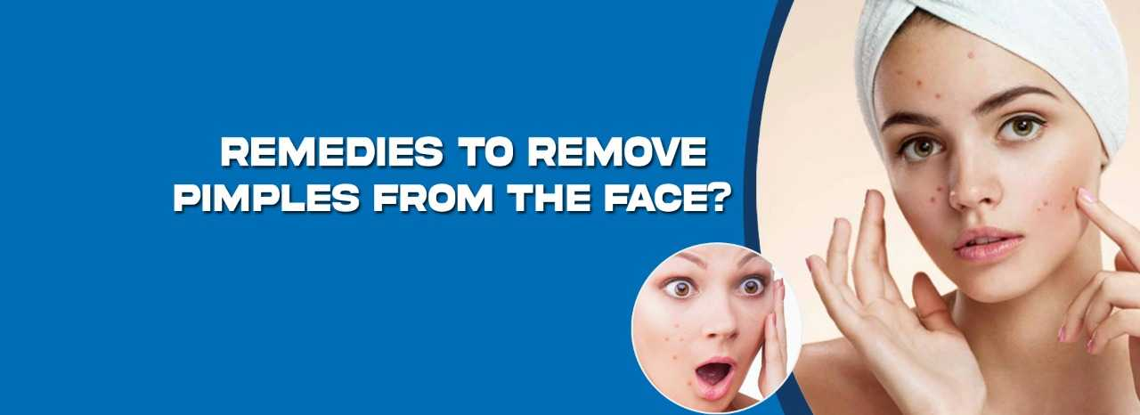pimples remedies