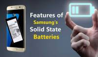 Samsung solid state batteries